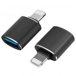 Adaptador OTG usb a lightning para móvil iphone conversor de iphone para accesorios adaptador USB para iOS