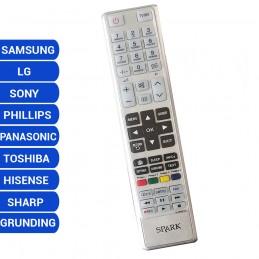 Mando TV universal LG SAMSUNG SONY PHILLIPS HISENSE TOSHIBA PANASONIC