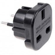 Adaptador enchufe UK a EU