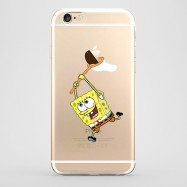Funda iPhone 6 Bob Esponja Transparente