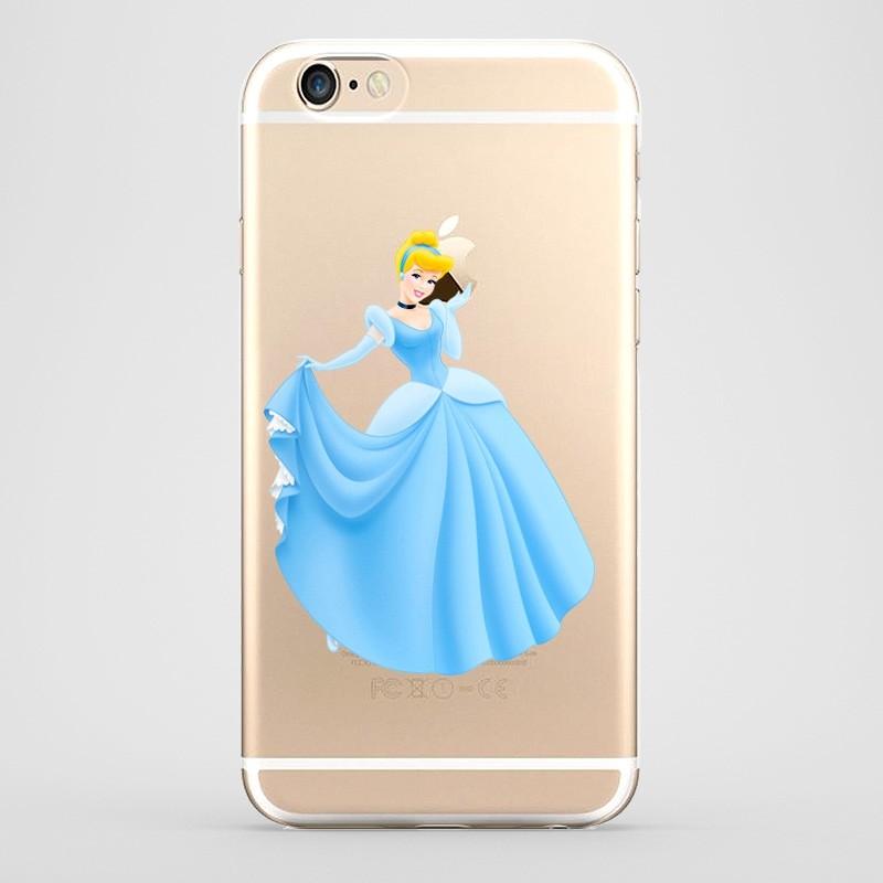 bd1f914913a Funda iPhone 6 Plus Cenicienta Transparente
