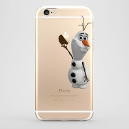 Funda iPhone 6 Olaf Frozen Transparente