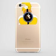 Funda iPhone 6 Homer Disparando Transparente