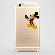 Funda iPhone 6 Mickey Mouse Transparente