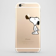 Funda iPhone 6 Snoopy Transparente