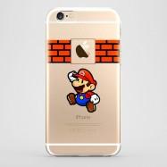Funda iPhone 6 Super Mario Transparente