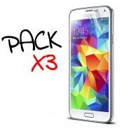 PACK X3 Protector Pantalla Galaxy S5 MINI delanteros