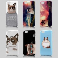 Funda iPhone Grumpy Cat