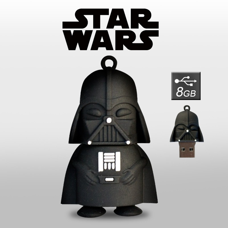 Pendrive Dark Vader 8GB Memoria USB Star Wars