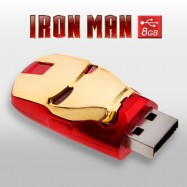 Pendrive Cabeza Iron Man 8GB Memoria USB Marvel