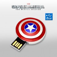 Pendrive Escudo Capitán América 8GB Memoria USB Marvel