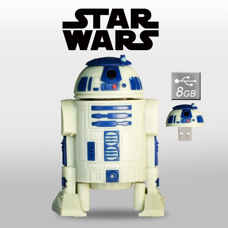 Pendrive R2D2 8GB Memoria USB Star Wars