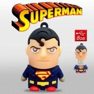 Pendrive Superman 8GB Memoria USB Dc