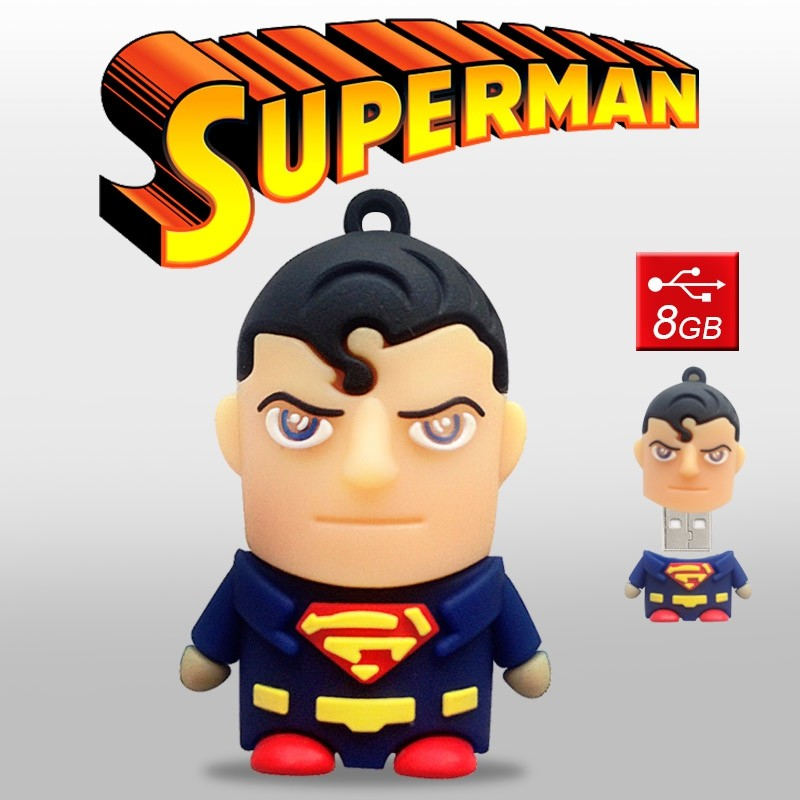 Pendrive Superman 8GB Memoria USB Dc