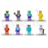 Minecraft Mini Figuras Transparentes Para Lego