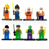 Dragon Ball Mini Figuras Para Lego
