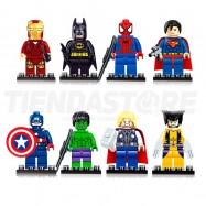 Marvel Mini Figuras Para Lego