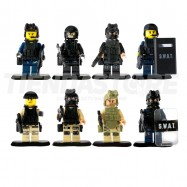 Swat Mini Figuras Para Lego