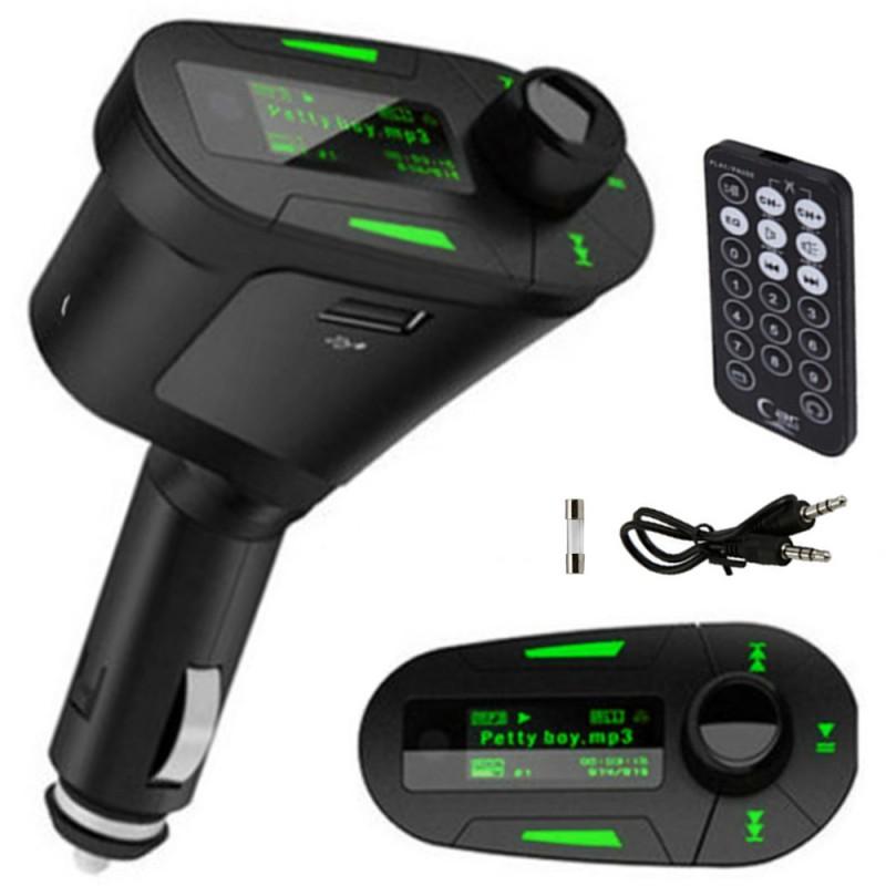 MP3 mechero coche transmisor radio
