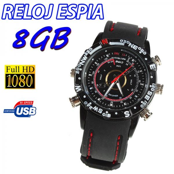 29376e78cad7 Reloj espía  Instrucciones de Uso y funcionamiento