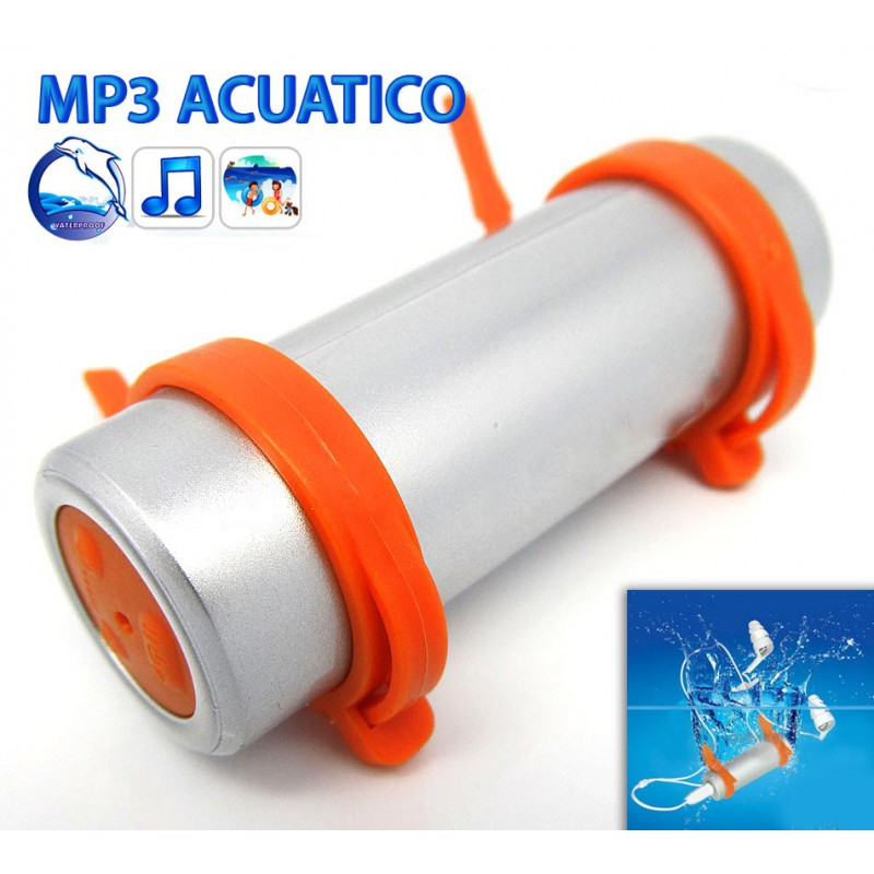 Reproductor mp3 acuatico como funciona for Mp3 para piscina