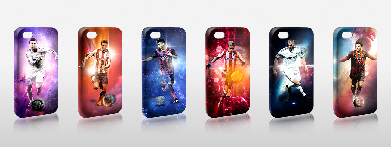 Fundas exclusivas para iphone colecciones con dise os exclusivos - Fundas nordicas de futbol ...