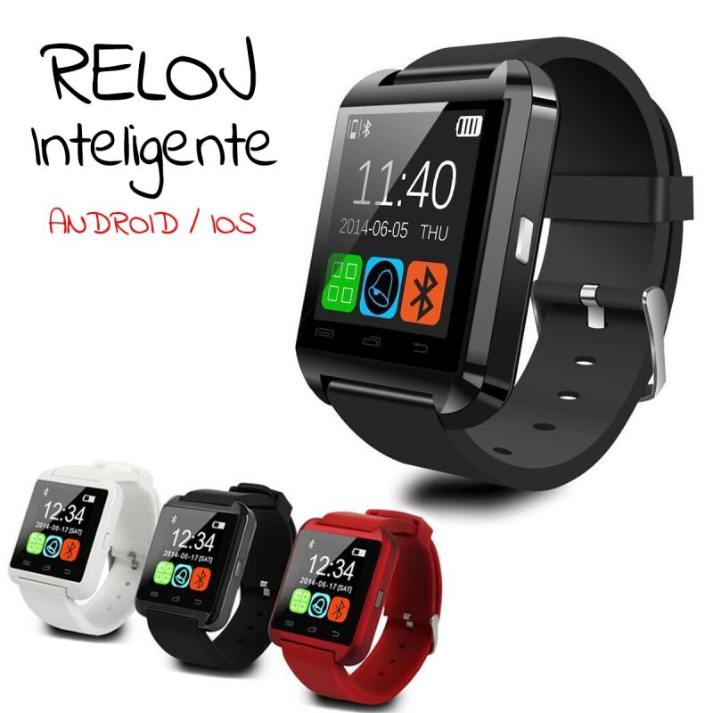 RELOJ INTELIGENTE U8 para iOs y Android con Bluetooth ... 599811c0002
