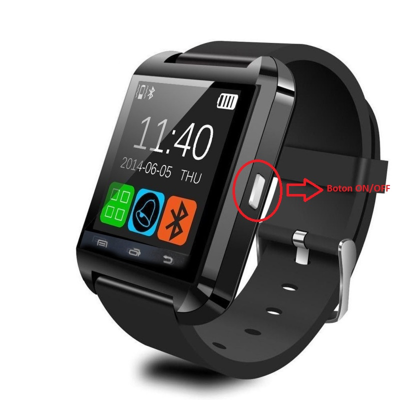 4945a6985d0b Como funciona el Reloj Inteligente SmartWatch U8