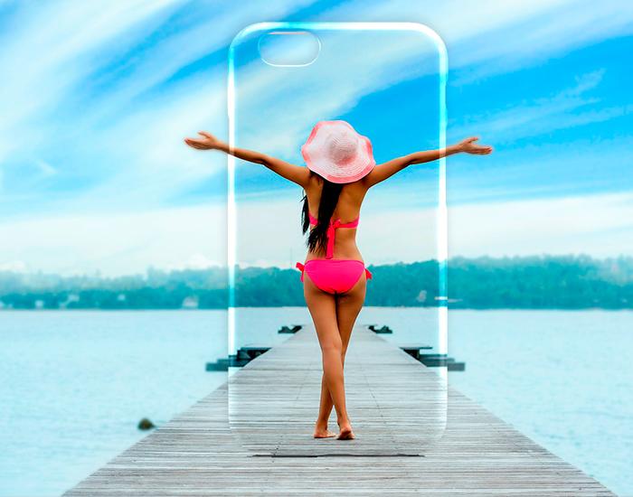 Funda personalizada con tu foto para iPhone X y iPhone XS