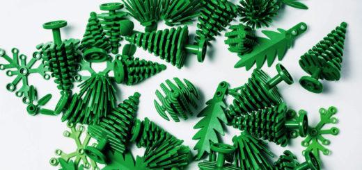 LEGO piezas sostenibles para el medio ambiente