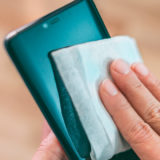 Toallitas desinfectantes para el móvil